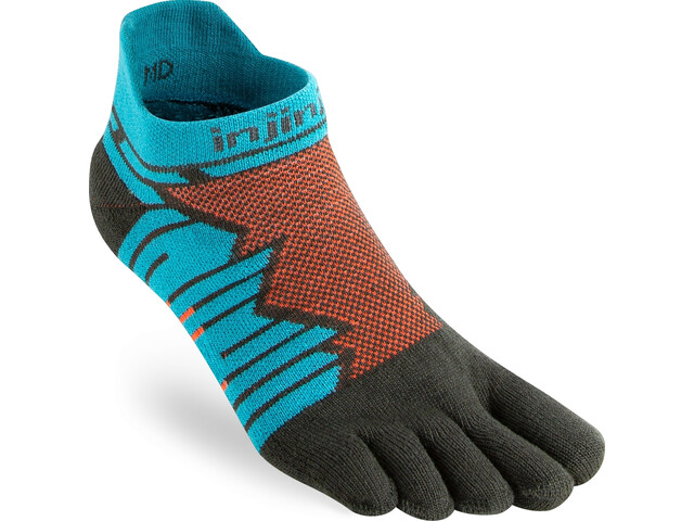Injinji Ultra Run No-Show Chaussettes, pop